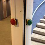 Linker deur knoppen