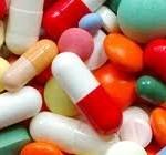 Deze roze medicijnen moet u 's morgens innemen.