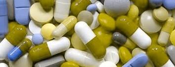 De roze medicijnen moet u 's morgens innemen! Foto bewerkt voor deuteranoop.